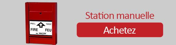 station manuelle incendie