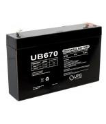 Batterie 6 Volt 7 Ampère